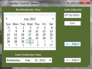 CalendarsDemo