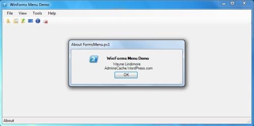 FormsMenu